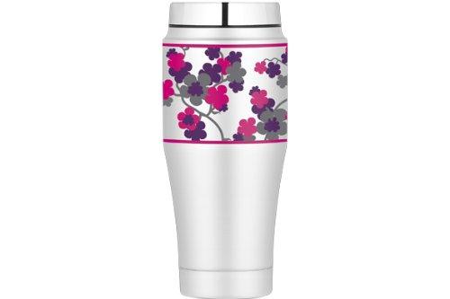 Mug isotherme Thermos à fleurs