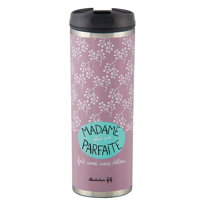 """Mug isotherme DLP """"Madame plus que parfait"""""""