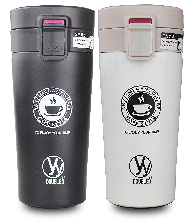 Mug thermos à double paroi Y-Double - prix inférieur à 15 euros