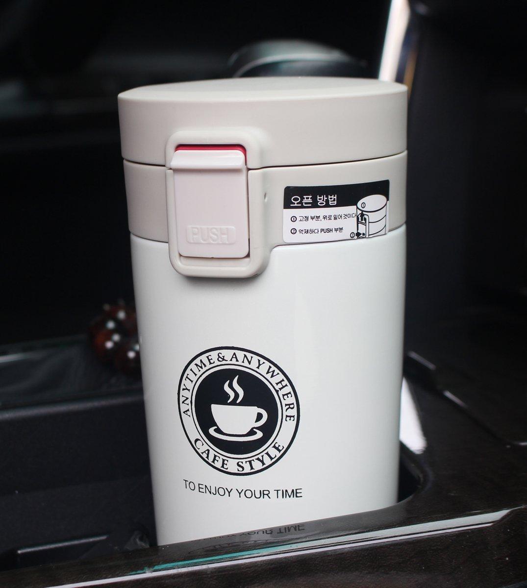 Un mug isotherme facile à transporter