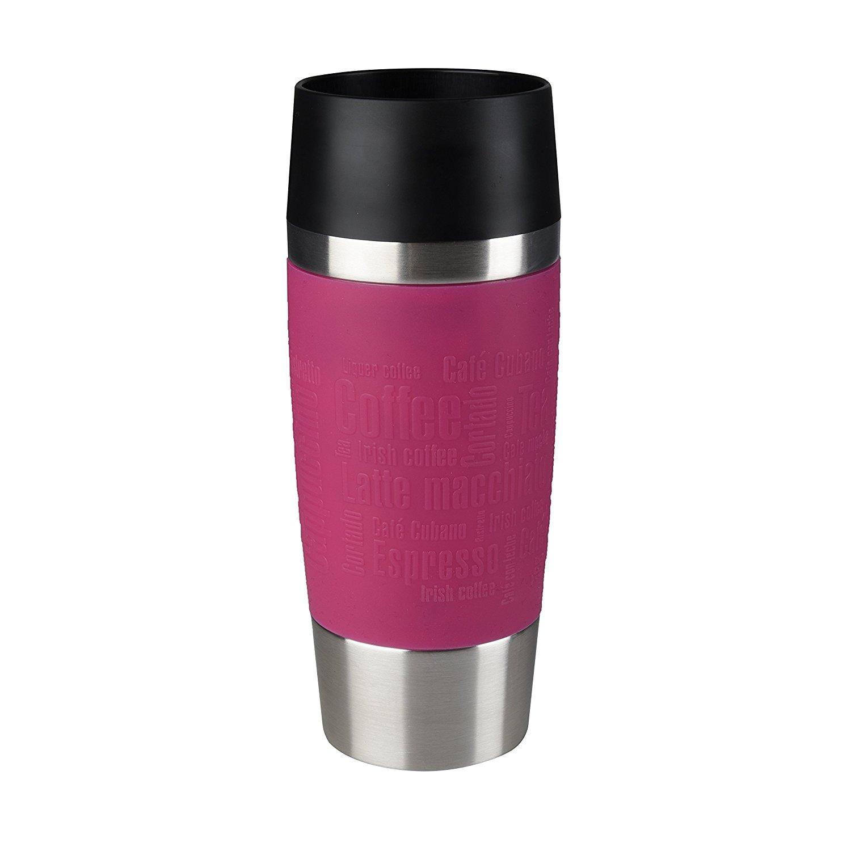 Mug isotherme de la marque Emsa couleur framboise