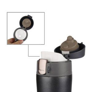 Mécanisme du mug isotherme MAVIE