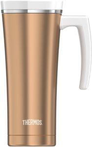 Thermos Genuine Brand Tasse isotherme anti-fuite en inox 470 ml